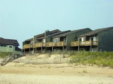 Barrier Island's Ocean Pines Beach in Duck, North Carolina