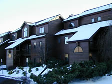 Liftside Village at Hunter Mountain Resort in Hunter, New York