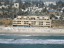 Southern California Beach Club in Oceanside, California