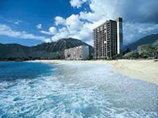 Hawaiian Princess at Makaha Beach in Makaha, Oahu, Hawaii