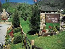 Swiss Mountain Village in Blowing Rock, North Carolina