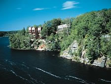 Birchcliff Villas at Deerhurst Resort in Huntsville, Ontario, Canada