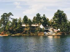 Island Inn in Blind River, Ontario, Canada