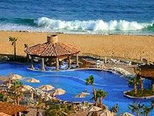 Pueblo Bonito Resort at Sunset Beach in Cabo San Lucas, Mexico