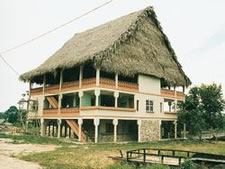 Cuxlin Ha Village in Belize, Caribbean