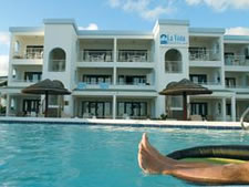 La Vista Beach Resort in Sint Maarten, Caribbean