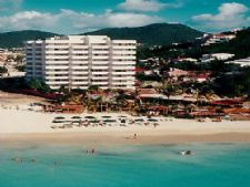 The Atrium Resort on Simpson Bay Beach in Sint Maarten, Caribbean